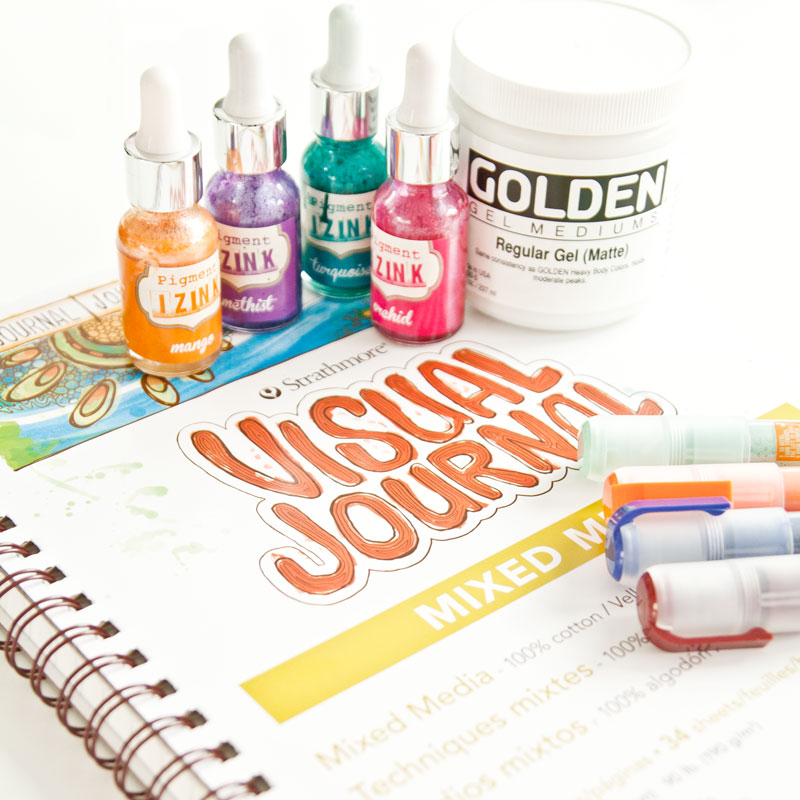 Art journaling products