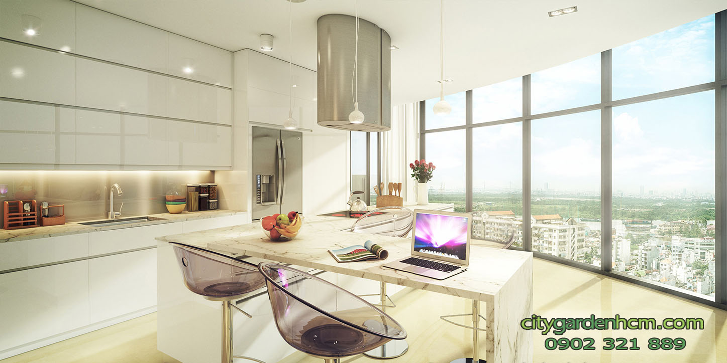 CITY GARDEN căn hộ penthouse thiết kế cao cấp sang trọng