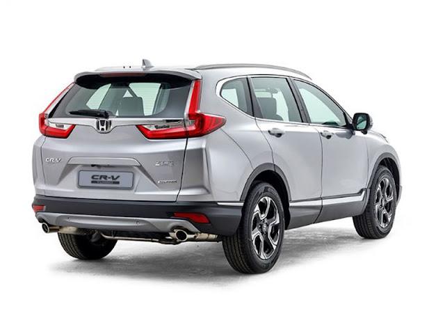 Harga Honda CRV-Turbo Pekanbaru Riau