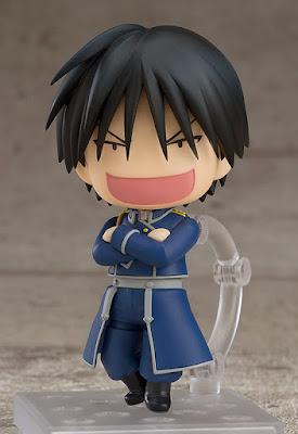 "Nendoroid Roy Mustang de ""Fullmetal Alchemist"" - Good Smile Company"