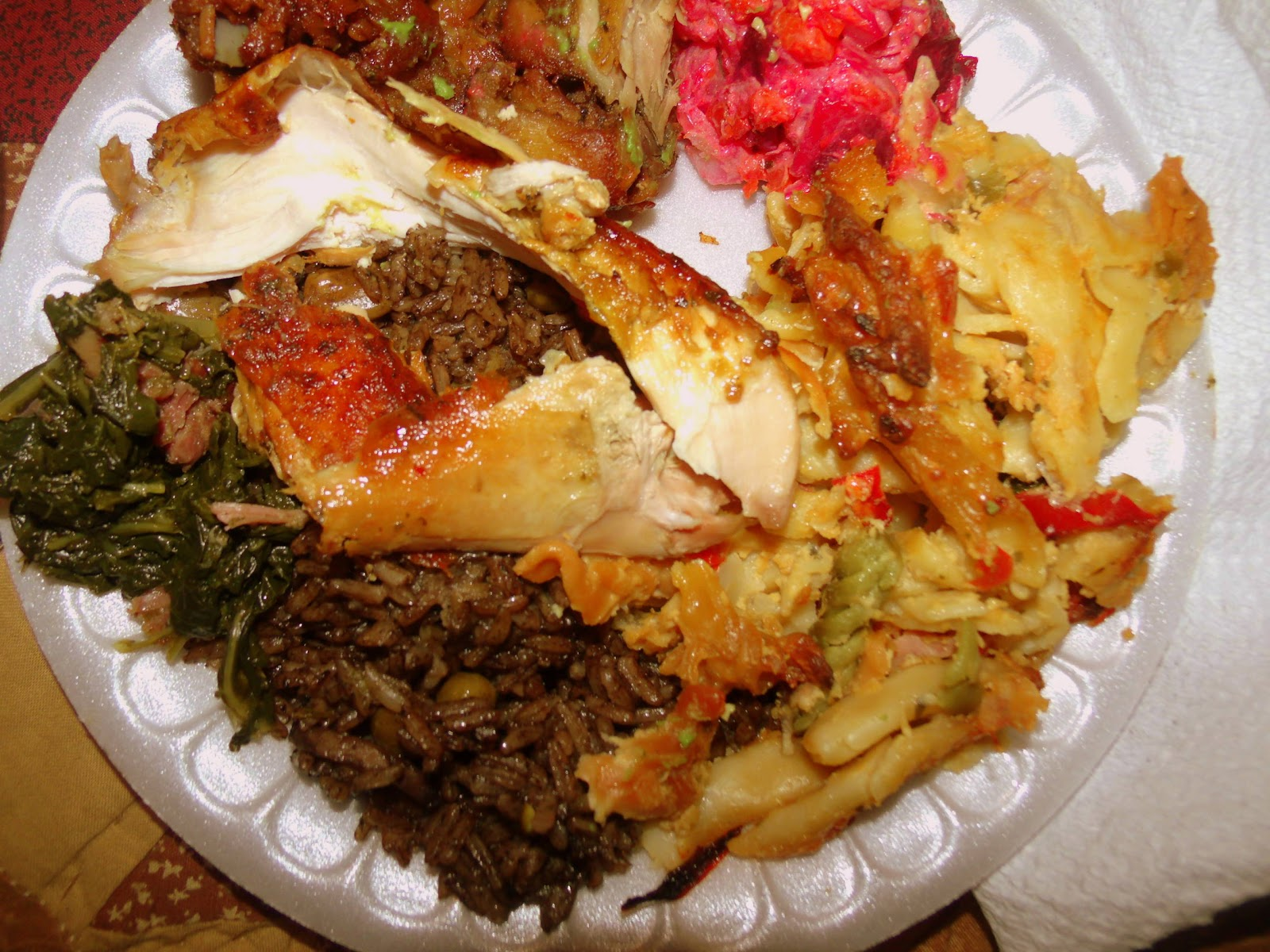 Haitian food recipes food thanksgiving haitian style a l haitienne forumfinder Choice Image