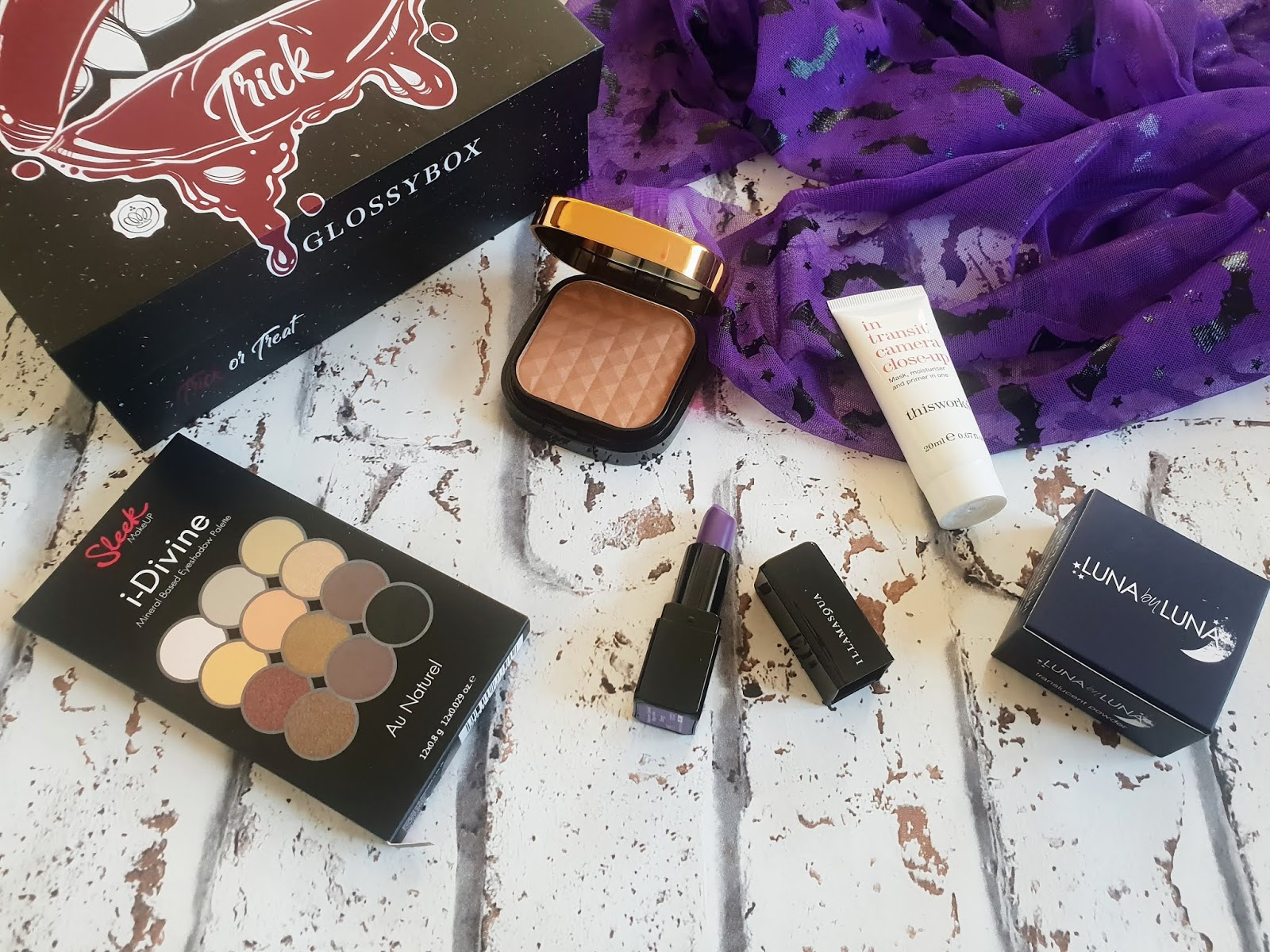 Glossybox October 2018 review