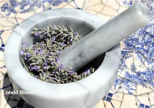 how to use  fresh lavender flowers