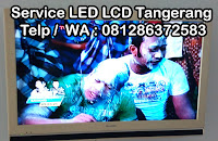 service led tv sharp parung panjang