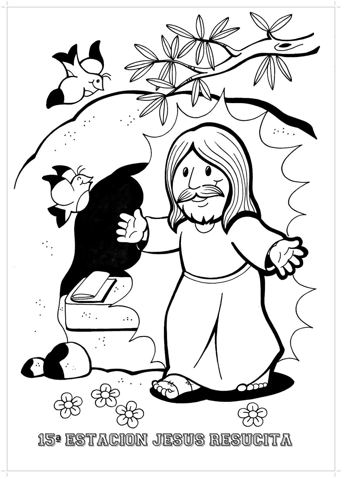 Junta Diocesana de Catequesis (Oberá): Dibujos del resucitado para ...