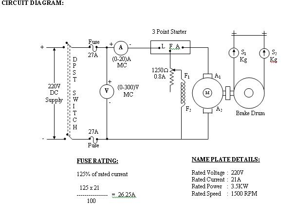 rheostat dc motor diagram  rheostat  free engine image for