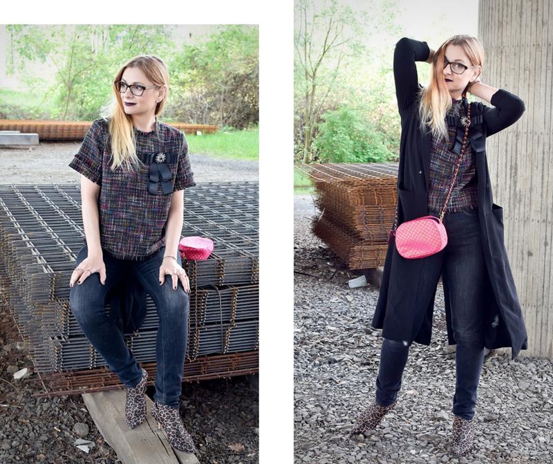 Boucle modern kombinieren, Boucle für Frauen über 40, Modeblog