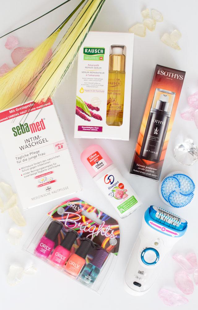 Der Inhalt der Beautypress Newsbox, Juni 2016, die Edelfabrik