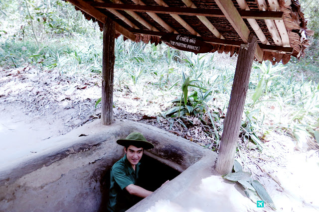bowdywanders.com Singapore Travel Blog Philippines Photo :: Vietnam ::  Củ Chi tunnels in Ho Chi Minh City, Vietnam: A Deeper Look at the Unbelievable Underground Maze
