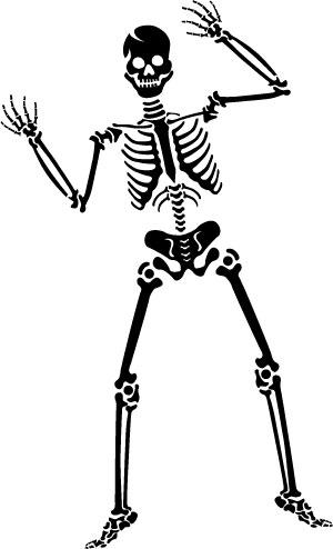 Halloween Scraft: Halloween Skeleton