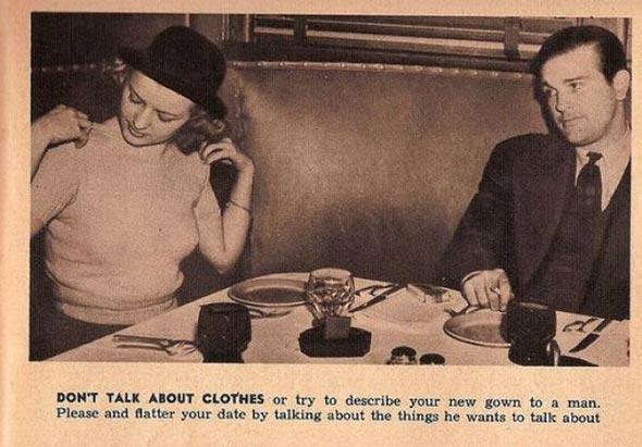 Proper edicate for dating