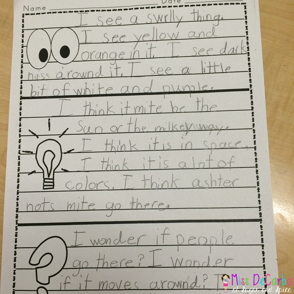 small resolution of Is Your Morning Work Making Kids THINK? - Miss DeCarbo