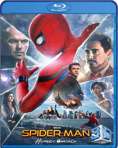 Spider-Man: Homecoming [2017] [BD50 [Latino] [3D]