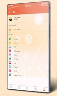 BBM MOD CandyLight Versi Terbaru v3.3.1.24 APK
