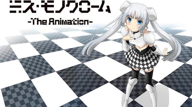 Miss Monochrome: The Animation - Daftar Anime Tentang Idol Terbaik