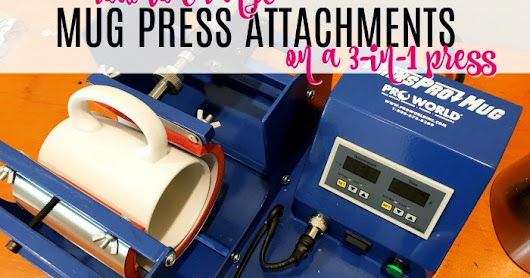 How to Change Mug Press Attachments
