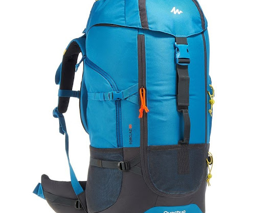 Quechua Forclaz 60 Blue Hiking Backpack For Rent In Bangalore