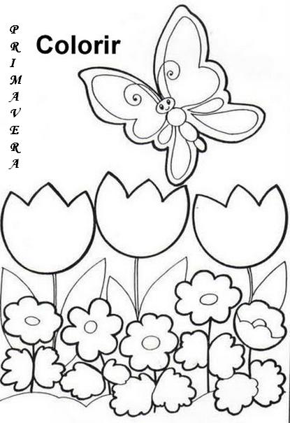primavera atividades turma da mÔnica e desenhos colorir imprimir i
