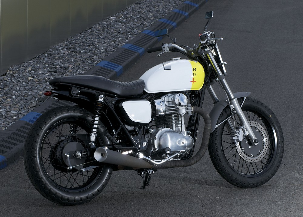 Racing Caf U00e8  Kawasaki W800 Starck Boxer