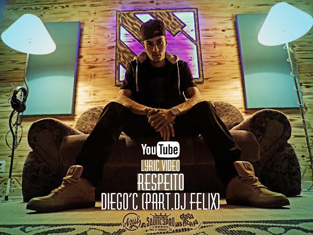 """Diego'C lança a musica """"Respeito"""" com participação do DJ Felix"""