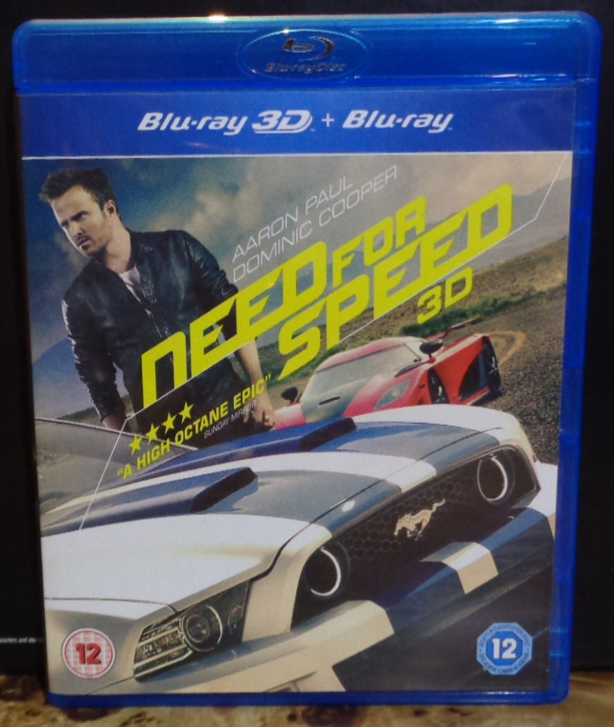 Movies on DVD and Blu-ray: Need for Speed (2014)