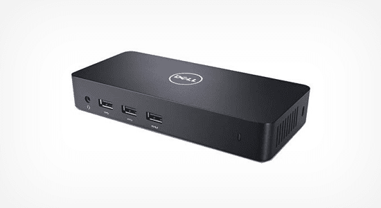 5. Dell USB 3.0 Ultra HD/4K Triple Display Docking Station