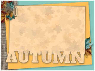 A Fall to Remember Journal/Pocket Card #2 - free scrapbook element