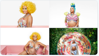 Rapper Nicki Minaj Announces Pregnancy With Lovely Baby Bump (Photos)