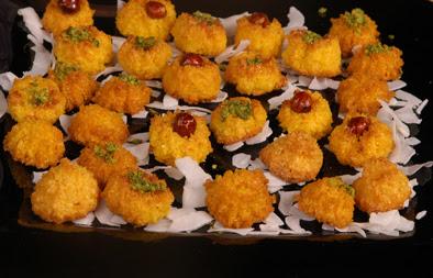 Yellow coconut dessert recipe | Arabic Food Recipes