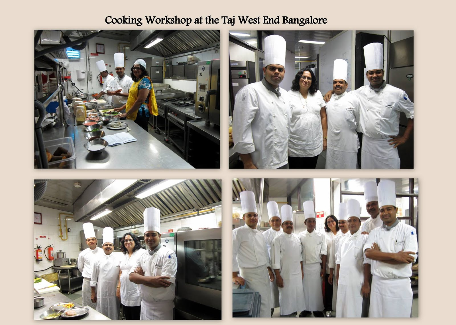 Cooking Workshop at the Taj West End Bangalore