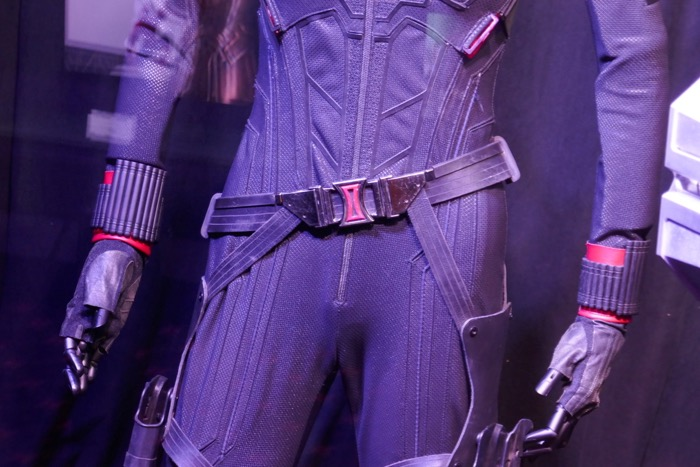 Black Widow costume belt detail Avengers Endgame