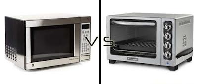 Perbedaan microwave dan oven listrik
