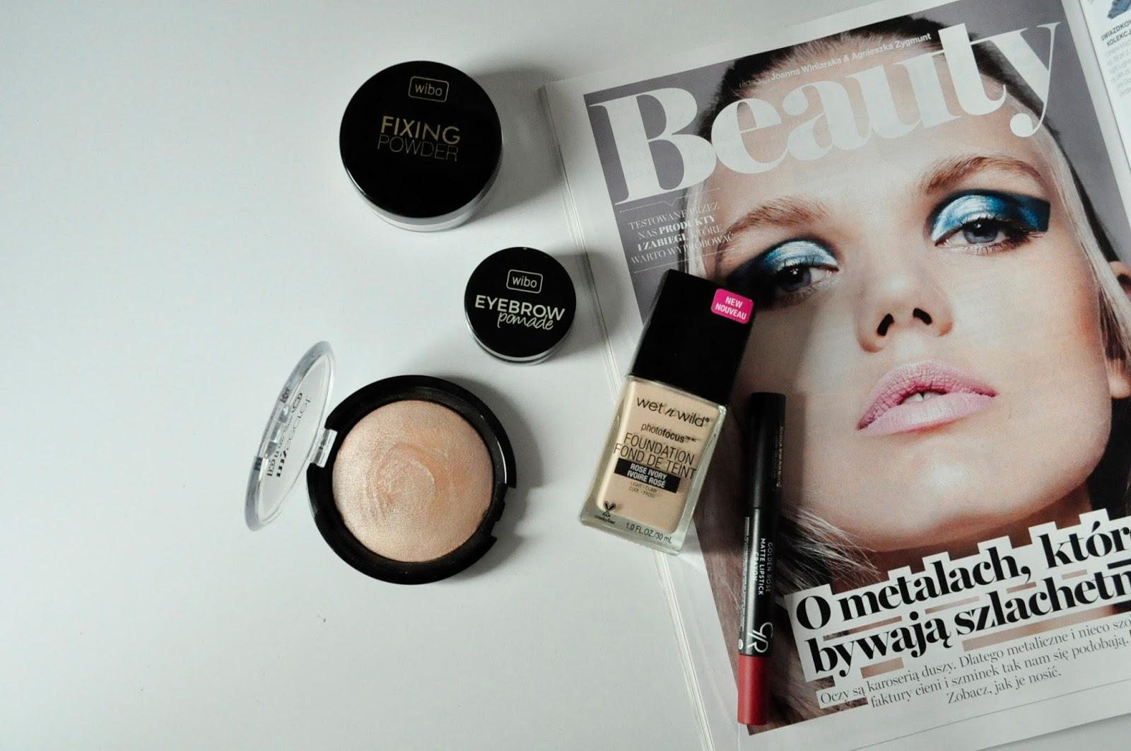 5 TANICH kosmetyków, które powinnaś mieć w swojej kosmetyczce   WIBO  My Secret  Wet n' Wild  Golden Rose