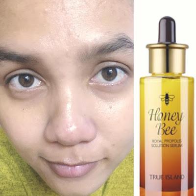 honey bee royal propolis serum feedback