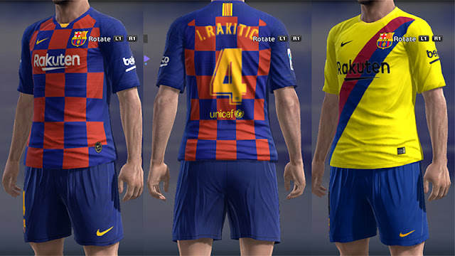 huge selection of eb24a b1fb2 PES 2013 FC Barcelona Kits 2019/2020 by Micano - Micano4u ...