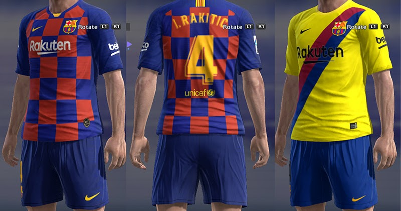 PAOFU 2019-2020 FC Barcelona Heimspiel 10# Messi Soccer Jersey Set f/ür Fans M/änner Junge