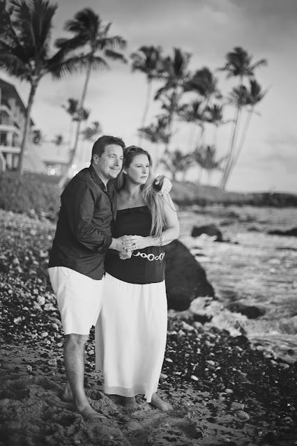 Krista Kowalczyk and Scott Flynn in Hawaii