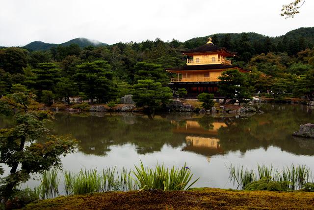 El templo Kinkakuji o Pabellón Dorado de Kioto