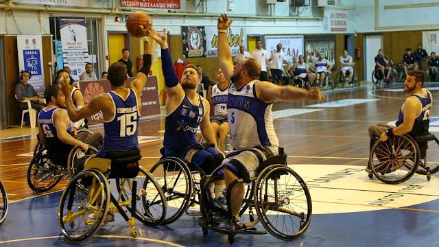 Η «αυλαία» του Διεθνούς Τουρνουά Καλαθοσφαίρισης με Αμαξίδιο