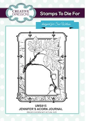 Creative Expressions Stamps To Die For Jennifer's Acorn Journal UMS815