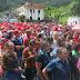 Oficialistas boconeses marchan en apoyo a los candidatos a la ANC
