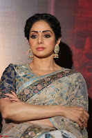Sri Devi in designer saree stunning beauty at the launch of MOM movie Trailer~  Exclusive 058.JPG