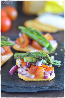 tosta-vegetal-trigueros-tomate-queso-decorecetas