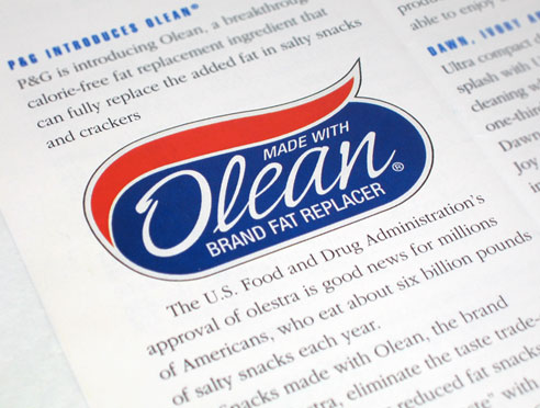 What Foods Contain Olestra Or Olean