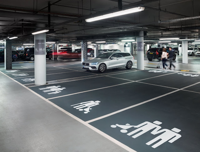 Volvo Car UK Redesigns Family Parking Icons