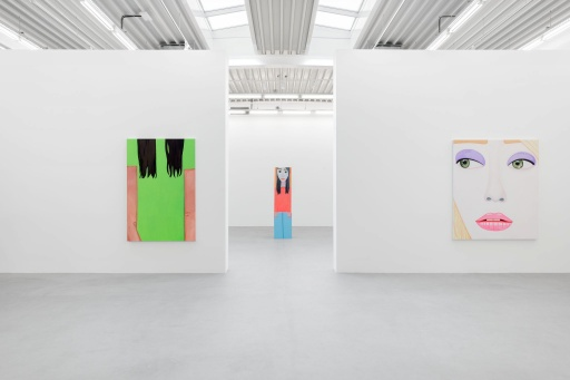Almine Rech Gallery - Brian Calvin - States Installation View 3