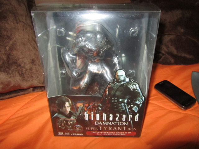 Rafa Collection Resident Evil Damnation Blu Ray 3d Blu Ray Super Tyrant Figure First Press Limited Edition Bd Jp