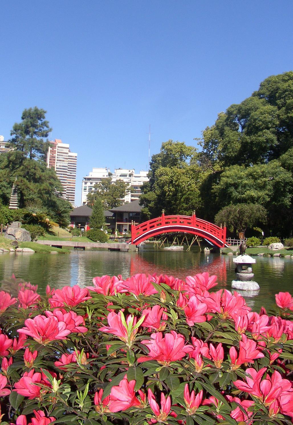 Paula pareto ser homenajeada en el jard n japon s for Precio jardin japones 2016