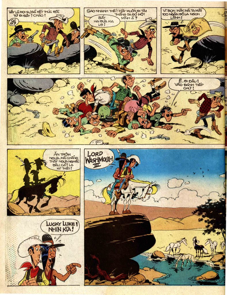 Lucky Luke tap 2 - ke san tien thuong trang 38