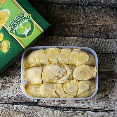jual durian kupas di sampit